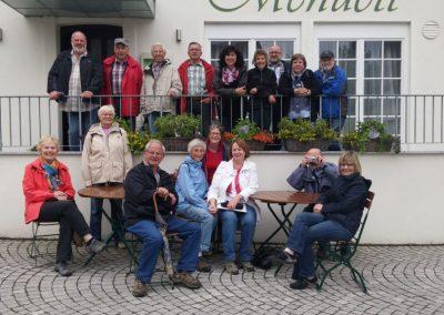 Gruppenfoto nach Wanderung