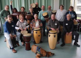 Trommelworkshop mit Norbert Schubert